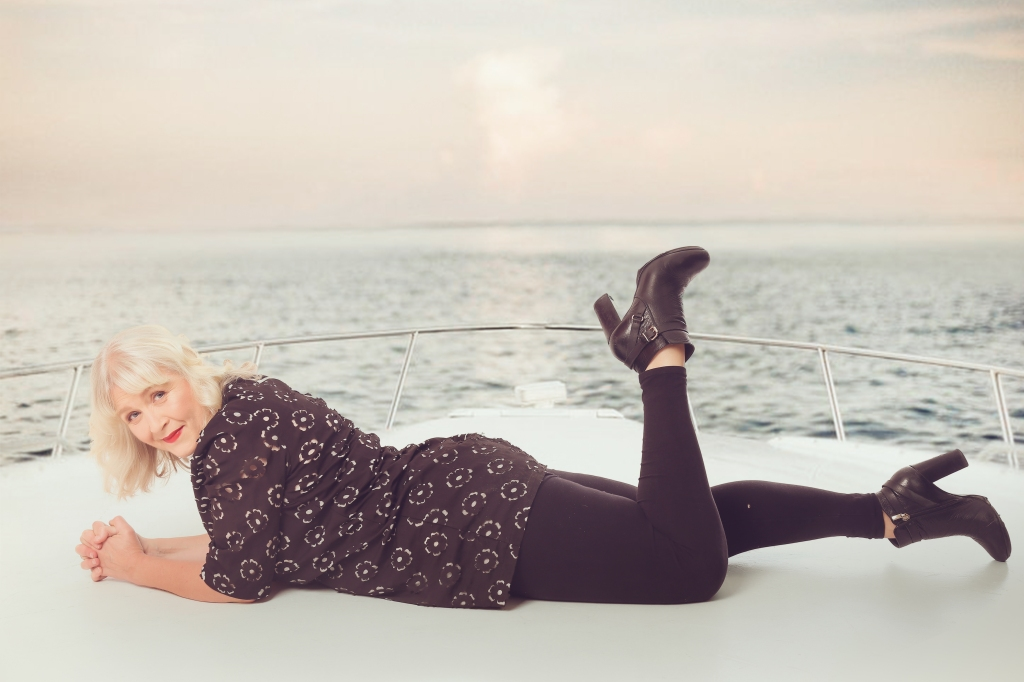 Photo: Claire Thompson, Waves PR, on boat front (decorative)